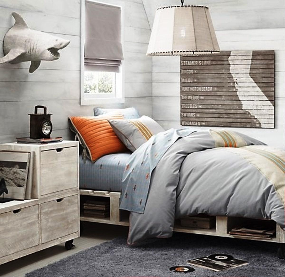 Дизайн комнаты мальчика подростка - фото 5