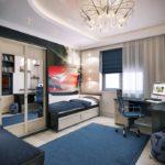 Дизайн комнаты подростка мальчика - фото 2