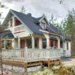 Дома в финском стиле - фото (16)
