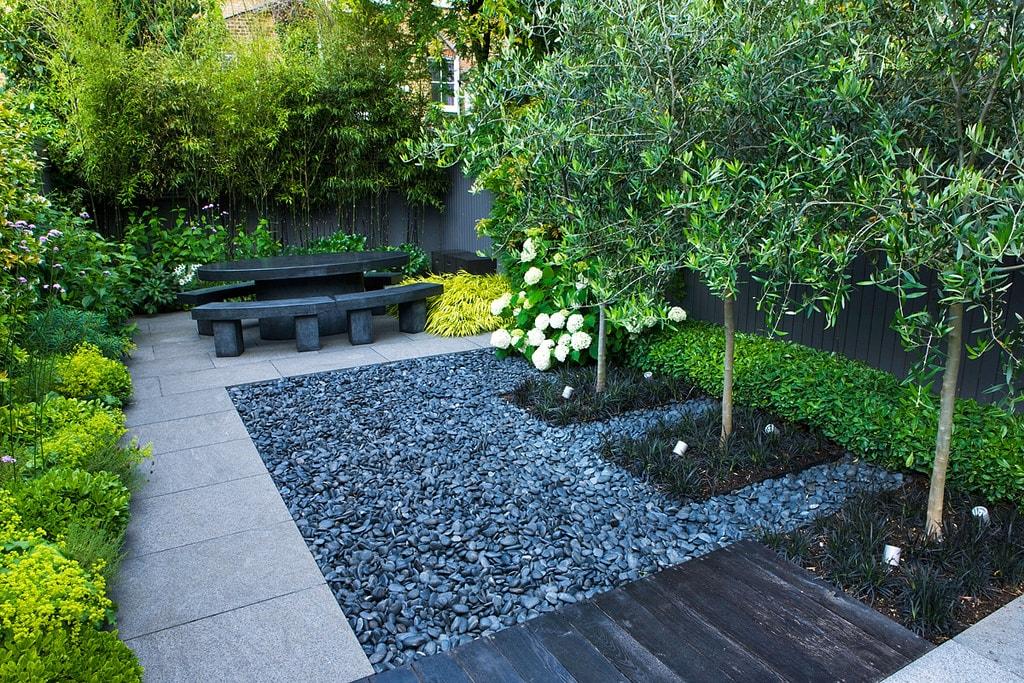 Задний двор в стиле минимализм