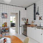 Кухня в скандинавском стиле - фото (10)