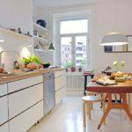 Кухня в скандинавском стиле - фото (13)