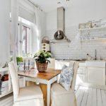 Кухня в скандинавском стиле - фото (15)