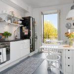 Кухня в скандинавском стиле - фото (16)