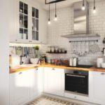 Кухня в скандинавском стиле - фото (6)