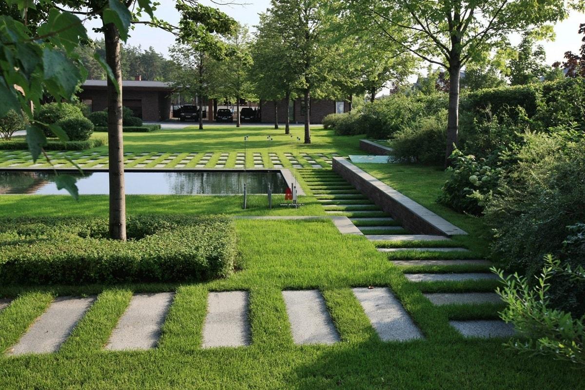 Ландшафтный дизайн в стиле минимализм