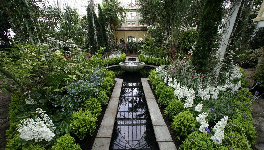 Сад в мавританском стиле, фото – Rehouz