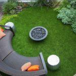 Садовая мебель в стиле хай-тек - фото