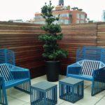 Садовая мебель в стиле хай-тек
