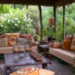 Садовая мебель для патио в мавританском стиле