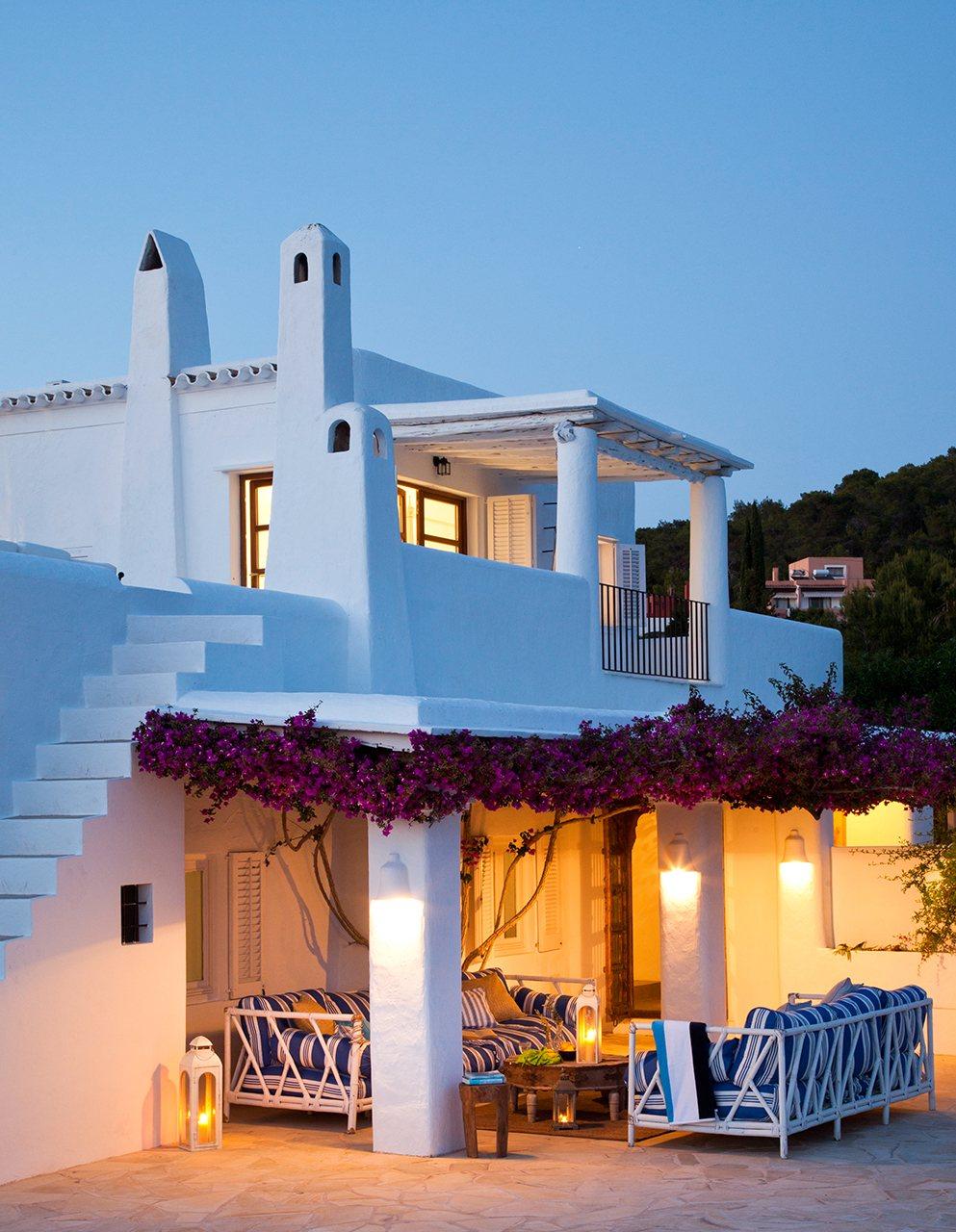 Средиземноморская архитектура в Греции - фото