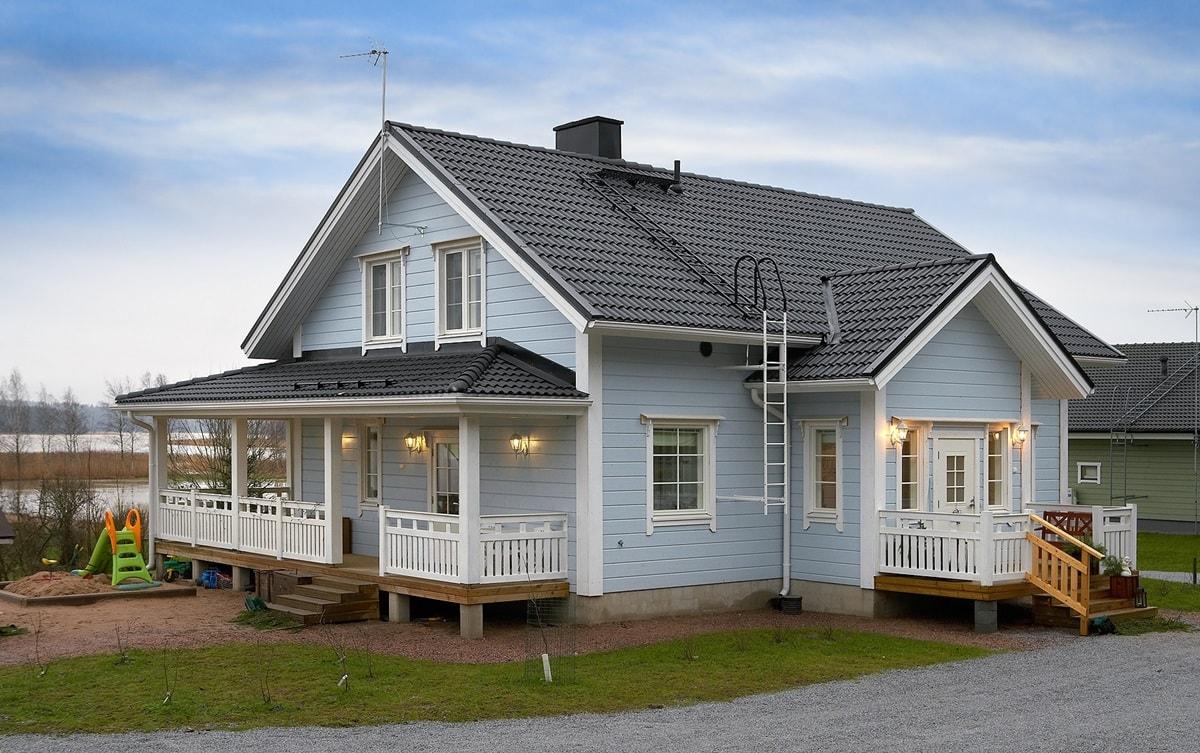 Финский деревянный дом