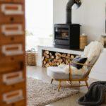 Хюгге в интерьере гостиной - фото (4)