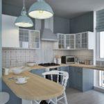 Хюгге в интерьере кухни - фото (3)