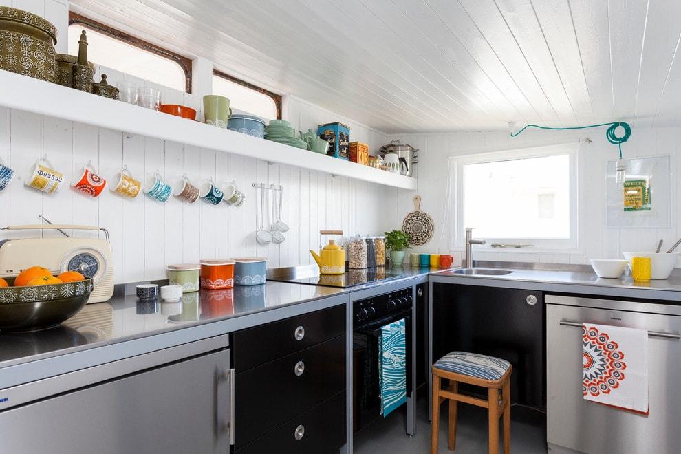 Хюгге в интерьере кухни - фото