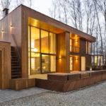 Дом с плоской кровлей - фото