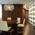 Декоративные рейки на стене в интерьере - фото (16)