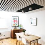 Декоративные рейки на стене в интерьере - фото (33)