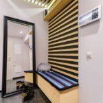 Декоративные рейки на стене в интерьере - фото (5)