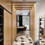 Декоративные рейки на стене в интерьере - фото (7)