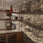 Декоративный камень в интерьере кухни и столовой - фото (3)