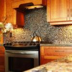 Декоративный камень в интерьере кухни и столовой - фото (5)