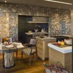 Декоративный камень в интерьере кухни и столовой - фото (6)