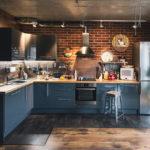 Декор для кухни в стиле лофт - фото