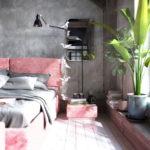 Декор для спальни в стиле лофт (3)