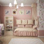 Детская спальня в стиле прованс - фото (4)
