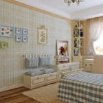 Детская спальня в стиле прованс - фото (5)