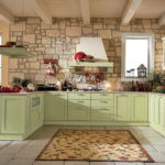 Дизайн кухни в стиле прованс - фото (10)