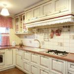 Дизайн кухни в стиле прованс - фото (17)