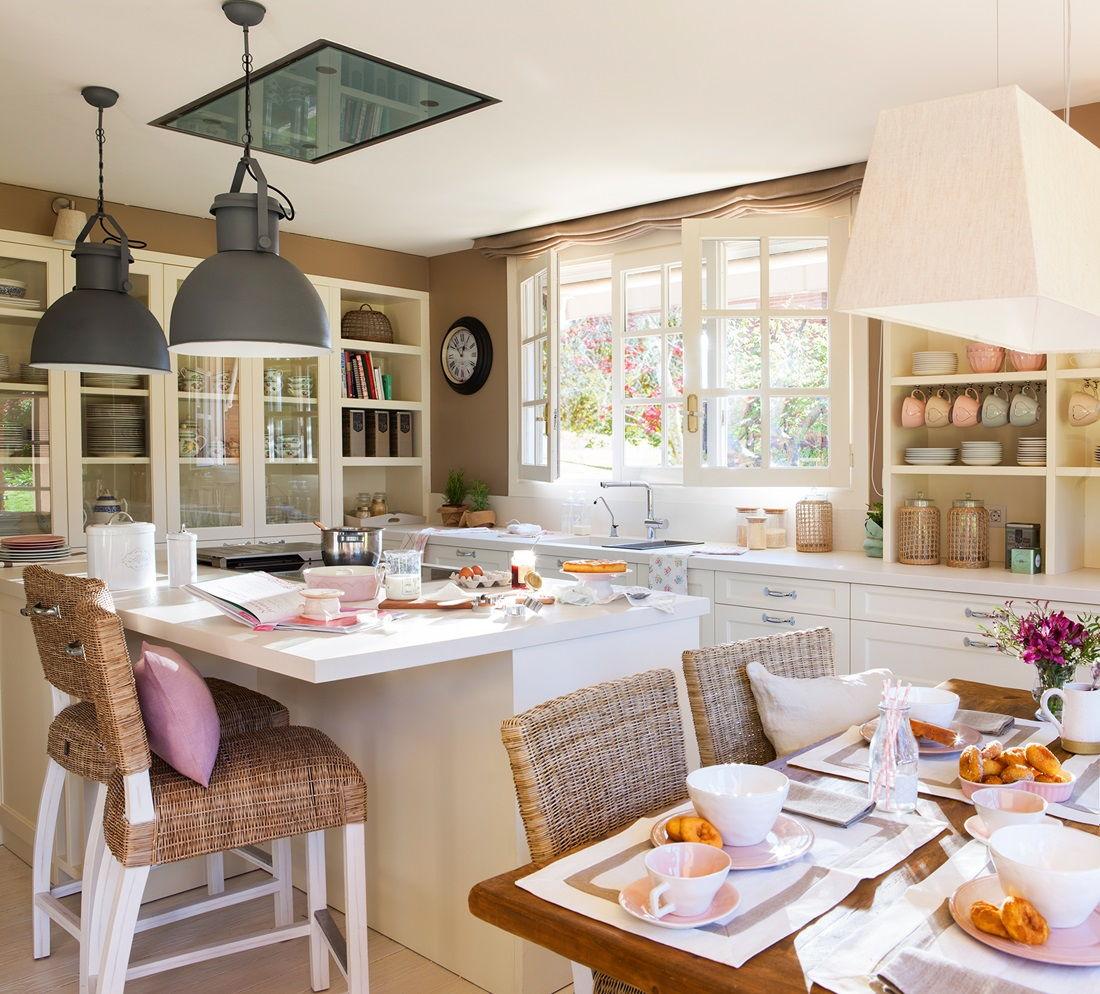 самые уютные кухни фото порадовать