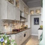 Дизайн кухни в стиле прованс - фото (20)