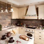 Дизайн кухни в стиле прованс - фото (21)
