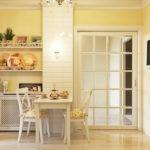 Дизайн кухни в стиле прованс - фото (22)