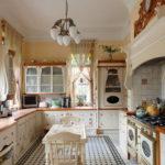 Дизайн кухни в стиле прованс - фото (23)