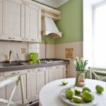 Дизайн кухни в стиле прованс - фото (24)