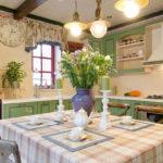 Дизайн кухни в стиле прованс - фото (25)