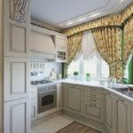 Дизайн кухни в стиле прованс - фото (26)