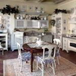 Дизайн кухни в стиле прованс - фото (27)