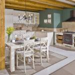 Дизайн кухни в стиле прованс - фото (29)