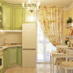Дизайн кухни в стиле прованс - фото (30)