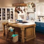 Дизайн кухни в стиле прованс - фото (31)