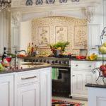 Дизайн кухни в стиле прованс - фото (33)