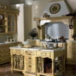 Дизайн кухни в стиле прованс - фото (35)