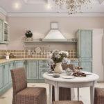 Дизайн кухни в стиле прованс - фото (36)