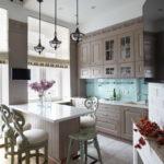 Дизайн кухни в стиле прованс - фото (4)