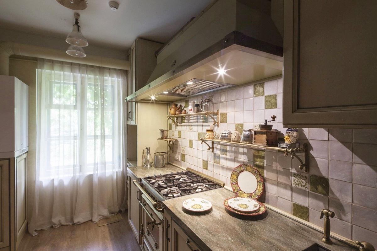 кухня в стиле прованс красивые примеры дизайна Rehouz